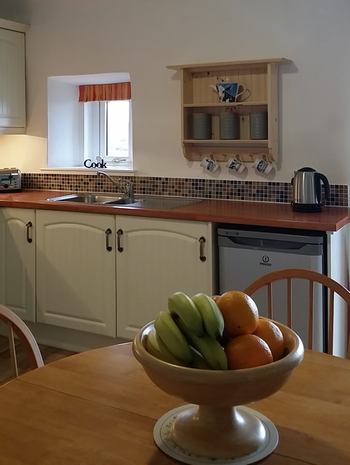 Picture of Redhythe Farm Holiday Cottage Kitchen