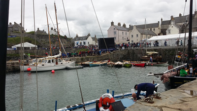 Picture of Portsoy Boat Festival